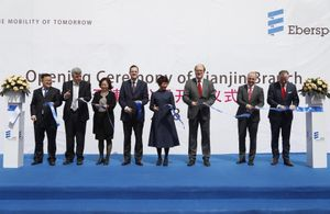 Eberspaecher opens a new plant in China