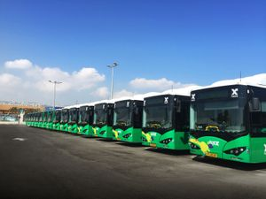 Eberspaecher air-conditions electric buses from BYD and Golden Dragon